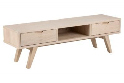 Dizajnový TV stolík Agni 150 cm svetlý dub