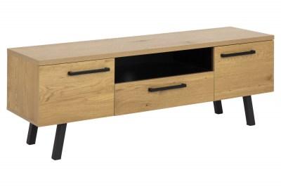 Dizajnový TV stolík Marlon 140 cm divý dub