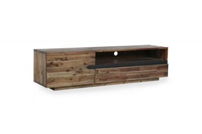 Dizajnový TV stolík Saxon II 170 cm akácia