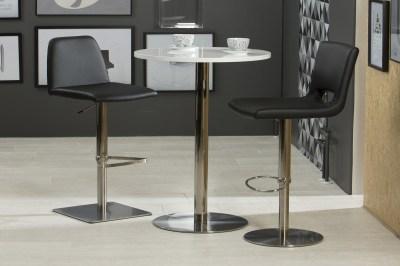 Elegantná barová stolička Alain, čierna