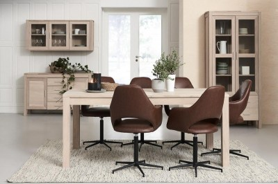 Elegantný jedálenský stôl rozkladací Aang, 200 cm