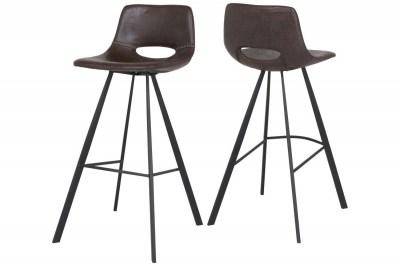 Barová stolička Izabella 106 cm  / tmavo hnedá