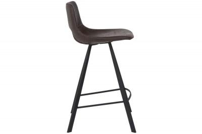 Barová stolička Izabella / tmavo hnedá