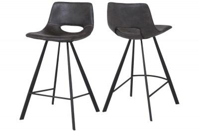 Barová stolička Izabella / čierna