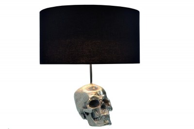 Stolná lampa Lebka / 44 cm