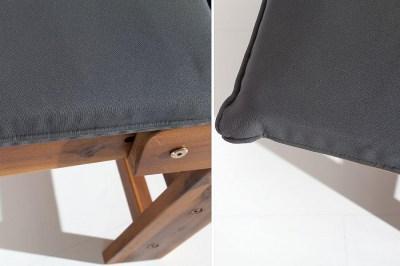 Dizajnová lavica Ocean skladacia / akácia