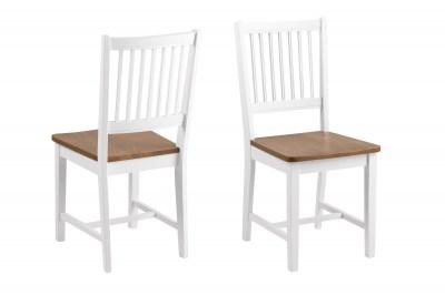 Jedálenská stolička Alger, biela