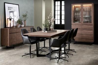Jedálenský rozkladací stôl Aage 200-250, vlašský orech