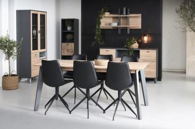 Jedálenský stôl rozkladací Aakil, 180-280 cm