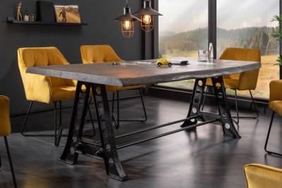Jedálenský stôl Massive 220cm sivá akácia