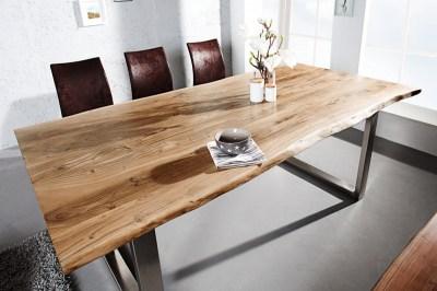Jedálenský stôl Massive Honey 160 cm - hrúbka 35 mm - akácia
