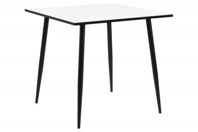 Jedálenský stôl Nayeli 80 cm biely