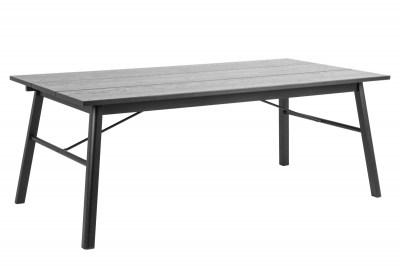 Jedálenský stôl Nealy 200 cm dub čierny