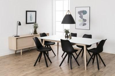 Jedálenský stôl rozkladací Nadia 200/300 cm biely