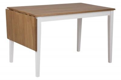 Jedálenský stôl rozkladací Neaira 120/160 cm rubber dub