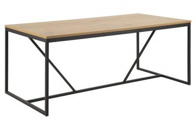 Jedálenský stôl Naja 180 cm dub - čierny