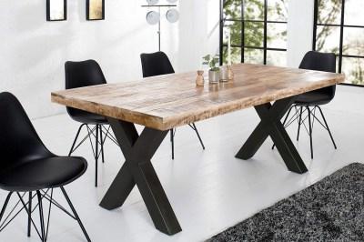 Jedálenský stôl Thunder 160 cm prírodný - mango