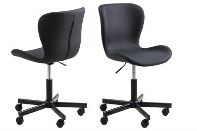 Kancelárska stolička Nasrin, antracitová