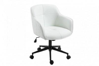 Kancelárska stolička Natasha biela