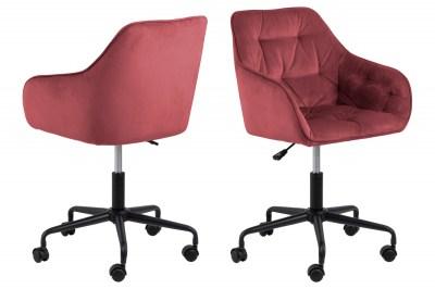 Kancelárska stolička Alarik koral