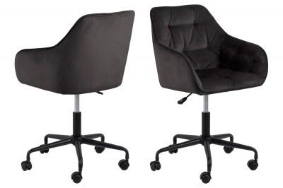 Kancelárska stolička Alarik sivá