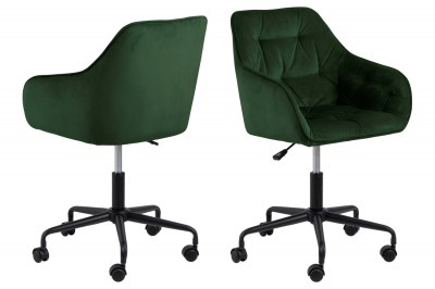 Kancelárska stolička Alarik zelená