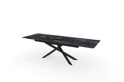 Rozťahovací keramický stôl Natasha 180-220-260 cm láva