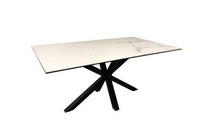 Keramický jedálenský stôl Neele 200 cm biely
