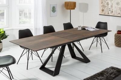 Keramický rozťahovací stôl Kody 180-230 cm dubový vzor