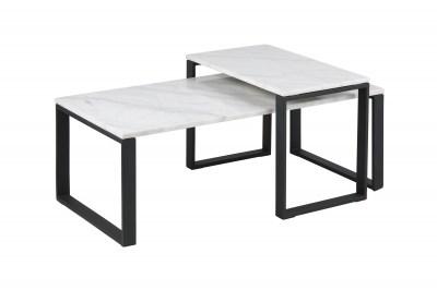 Konferenčný stolík 2-set Akamu, biela