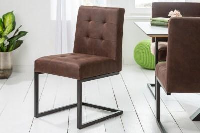Konzolová stolička Cowboy vinatge hnedá