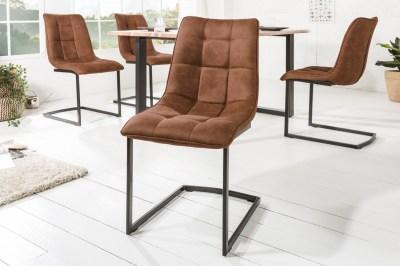 Konzolová stolička Gunner hnedá