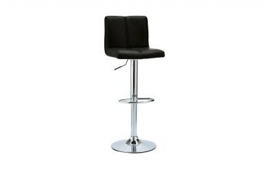Luxusná barová stolička Aesop, čierna