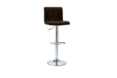 Luxusná barová stolička Aesop, tmavohnedá