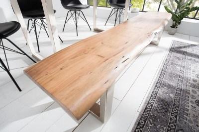 Luxusná lavica Massive 200 cm akácia