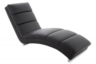 Luxusné relaxačné kreslo Nana, čierne