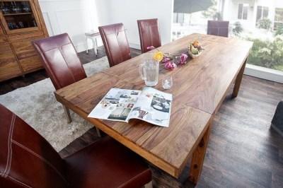 Jedálenský stôl z masívu rozkladací 160-240cm Las Palmas