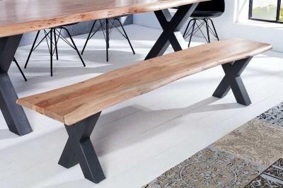 Luxusná lavica Massive 160cm agát