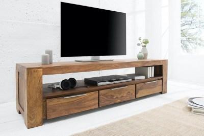 Luxusný TV stolík Timber z masívu 170 cm