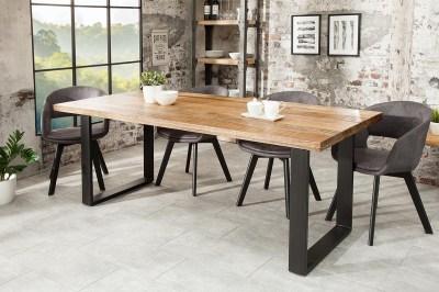 Luxusný jedálenský stôl Thunder 200 cm mango