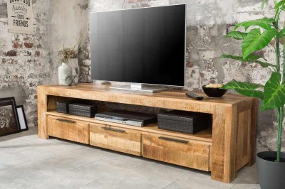 Dizajnový TV Thunder 170 cm mango