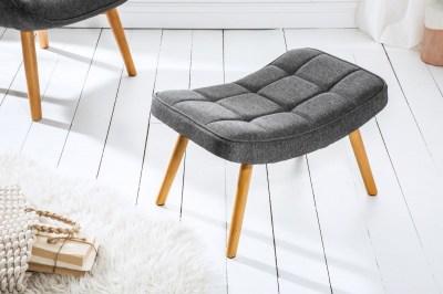 Dizajnová podnožka Sweden, sivá
