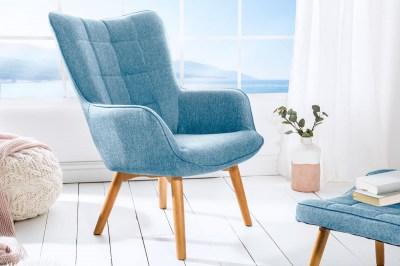 Dizajnové kreslo Sweden, modré