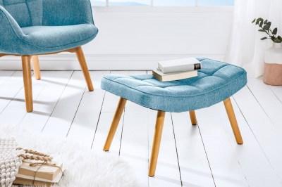 Dizajnová podnožka Sweden, modrá