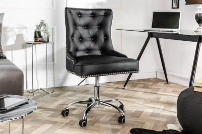 Kancelárska stolička Jett čierna