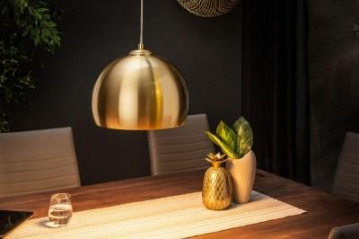 Dizajnová závesná lampa Giovani, 30 cm zlatá