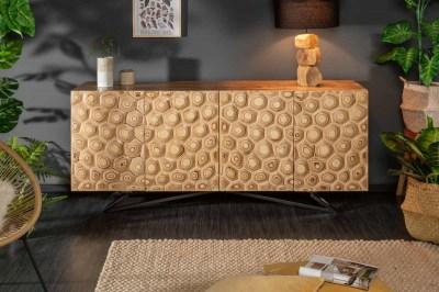 Dizajnová komoda Lorelei, 175 cm, mango