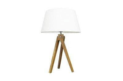Dizajnová stolová lampa Dawson, 64 cm, biela