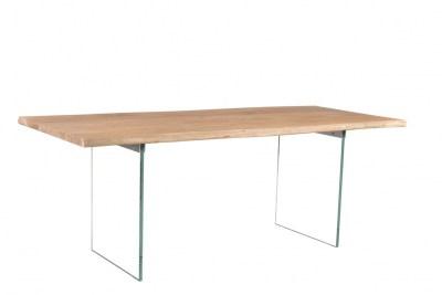 Dizajnový jedálenský stôl Massive, 200 cm, akácia