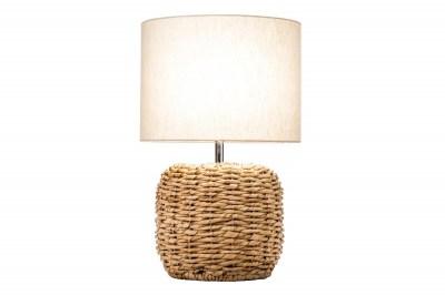Dizajnová stolná lampa Madyson, 47 cm, pletená